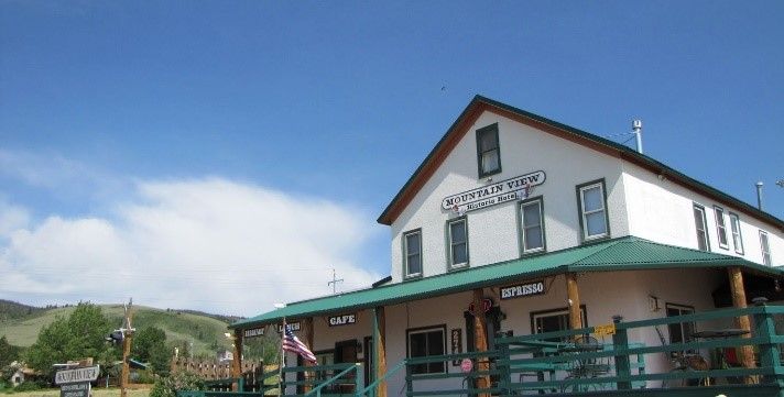 The Mountain View Historic Hotel